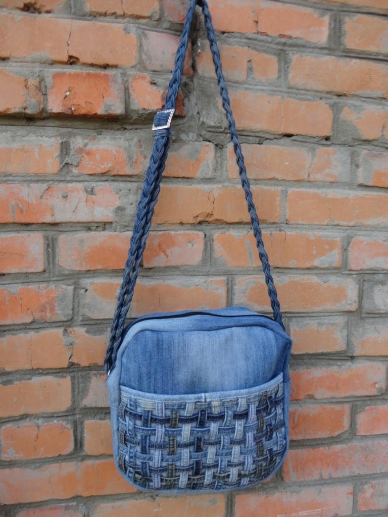 Маленькие джинсовые сумки фото и выкройки